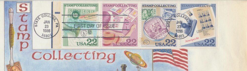 Salg af frimærker, mønter, postkort, grammofonplader mv.